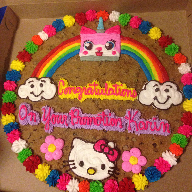 Great American Cookie Company Birthday Cake Cookie