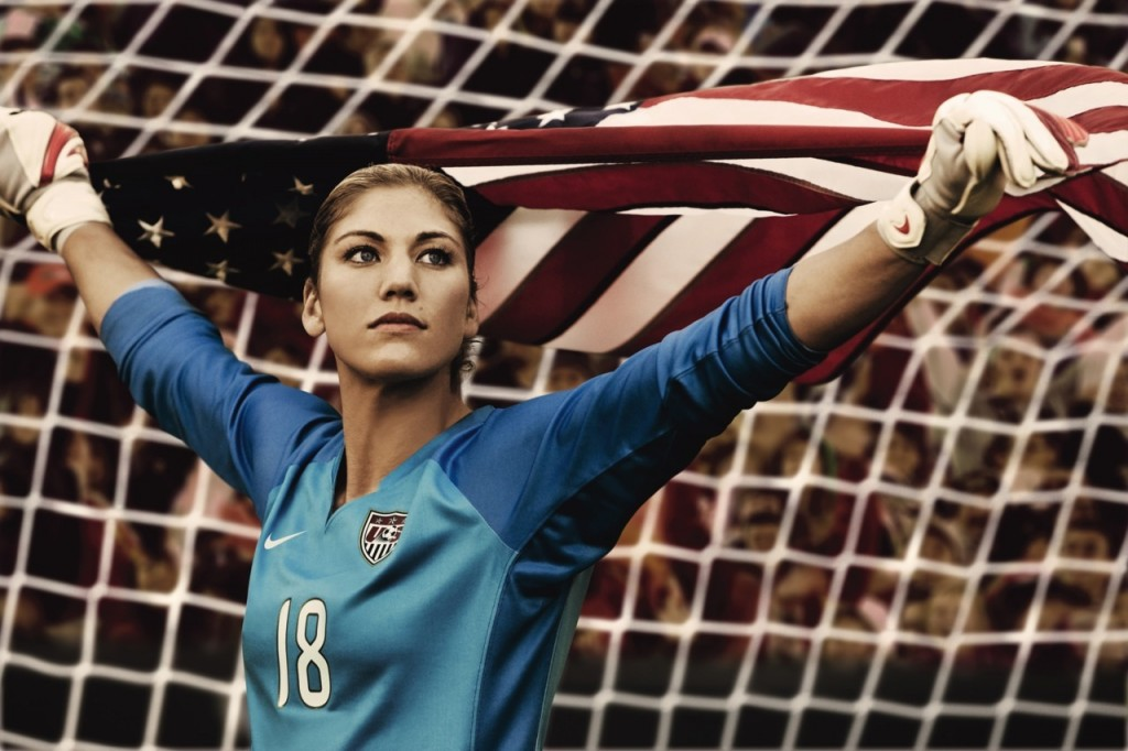 hope-solo-with-her-country-flag-754182060